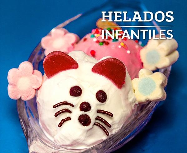 Helados Infantiles - Menu Frutería y Heladería Dinays