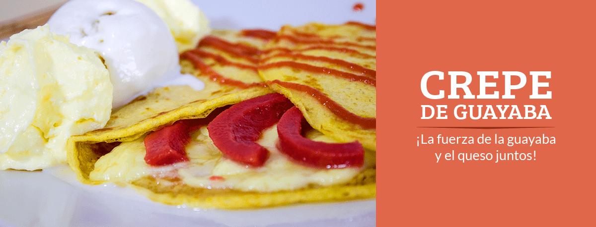 Imagen slider crepe de guayaba - Dinays frutería y heladería en cali