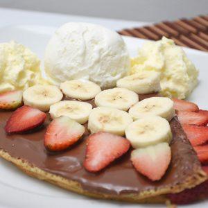Imagen full crepe nutella dinays - Frutería y Heladería en Cali